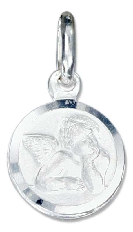 Small Rafael Cherub Young Angel Charm