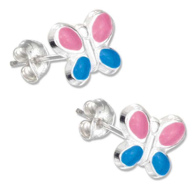 Butterfly Post Earrings