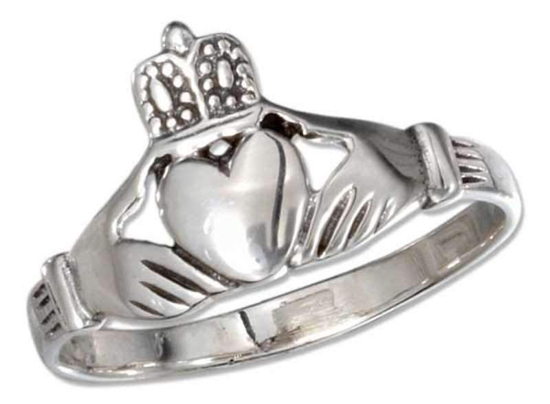 Unisex Large Claddagh Ring