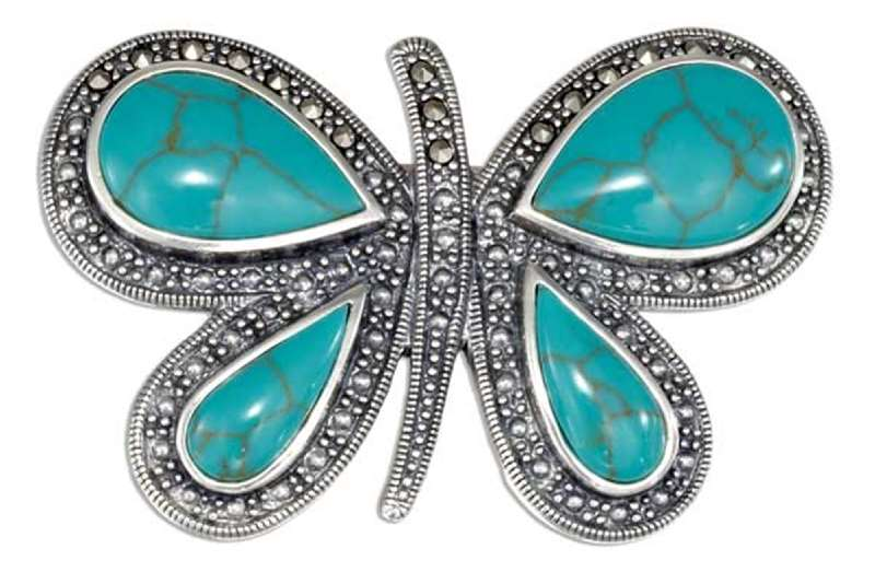 Turquoise Pins & Brooches