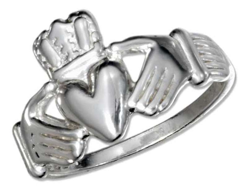 Men's Celtic Friendship Claddagh Ring
