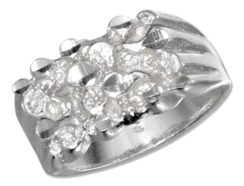 Men's Nugget Ring