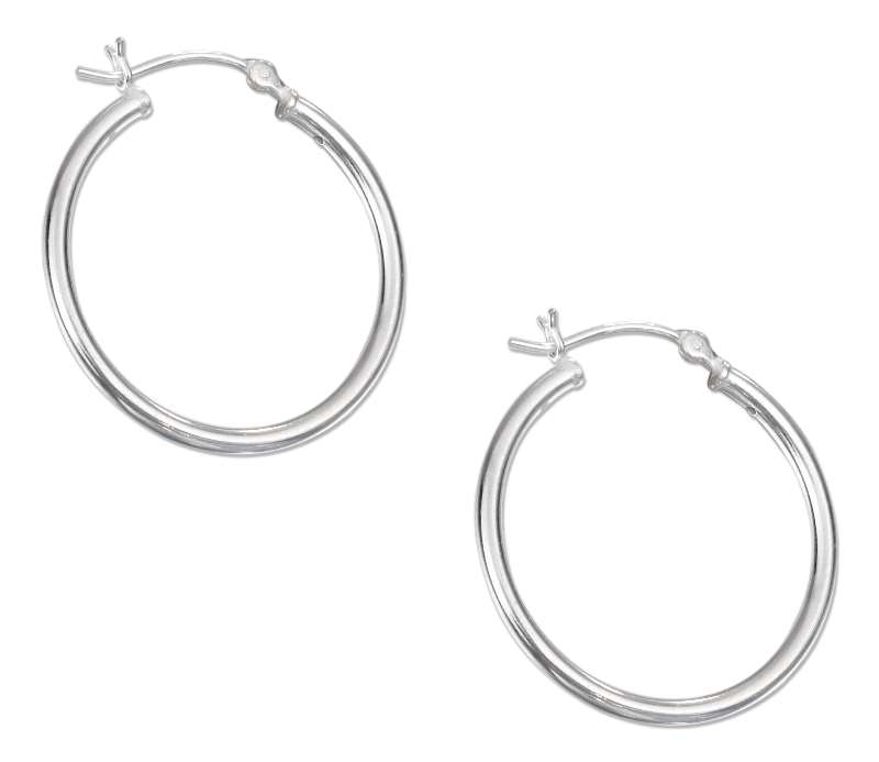 Hoop Earrings 28mm