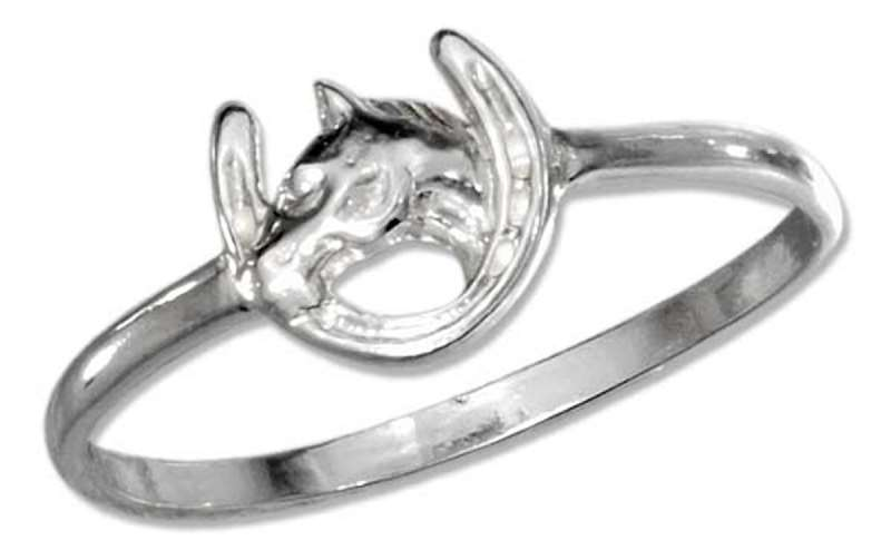 Horseshoe Horse Ring