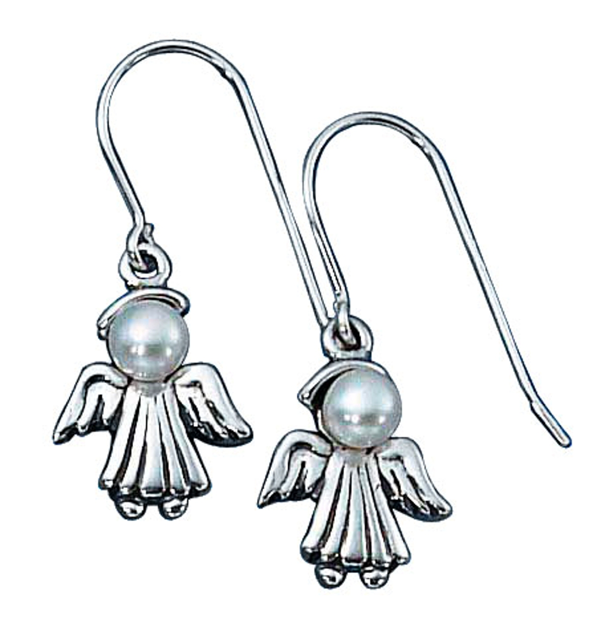 Little Angel Dangle Earrings