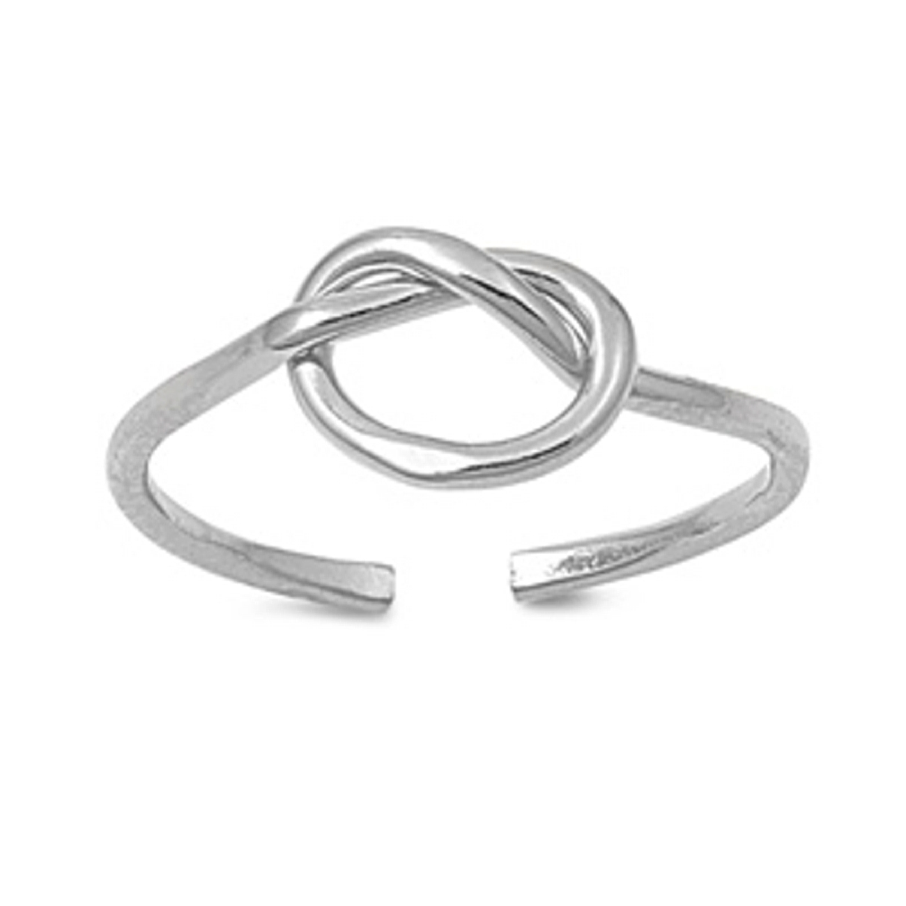 Adjustable Love Knot Wire Toe Ring