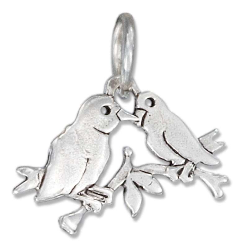 Lovebirds Charm