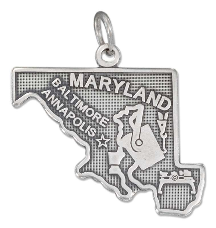 MARYLAND State Charm