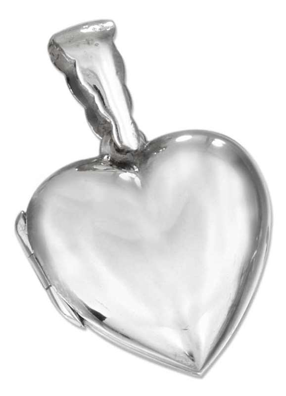 Heart Picture Locket Pendant