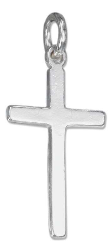 Christian Religious Plain Cross Charm