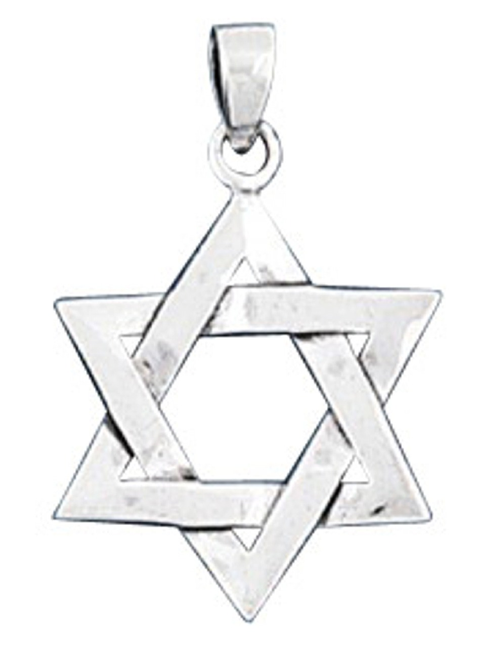 "15/16"" Medium Star Of David Pendant"