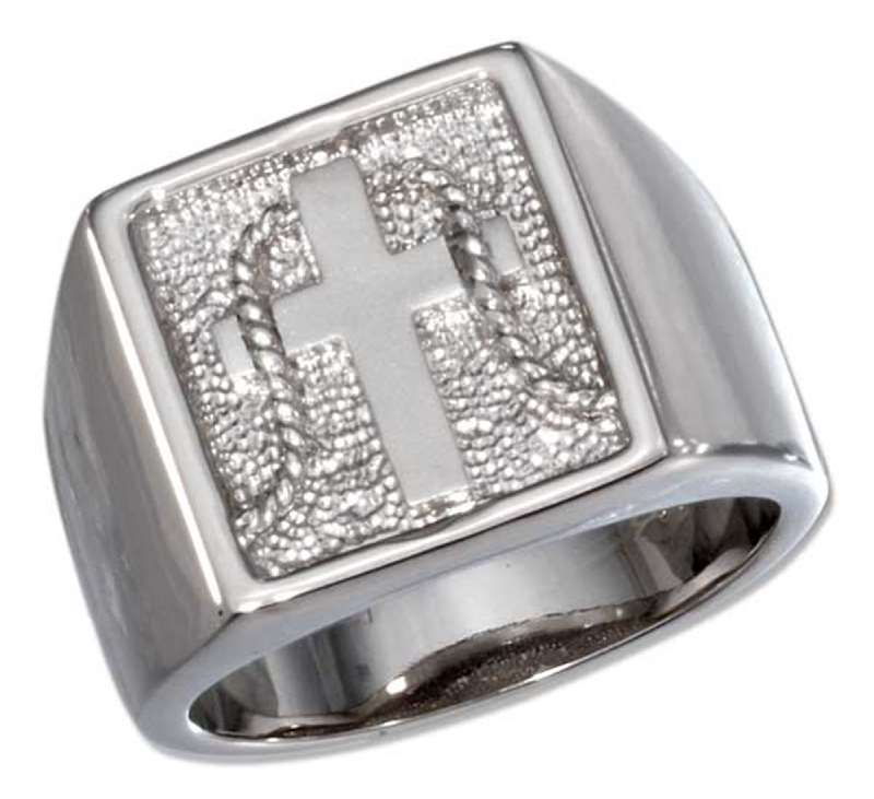 Christian Silver Jewelry, Men's Christian Rings, True Love Waits