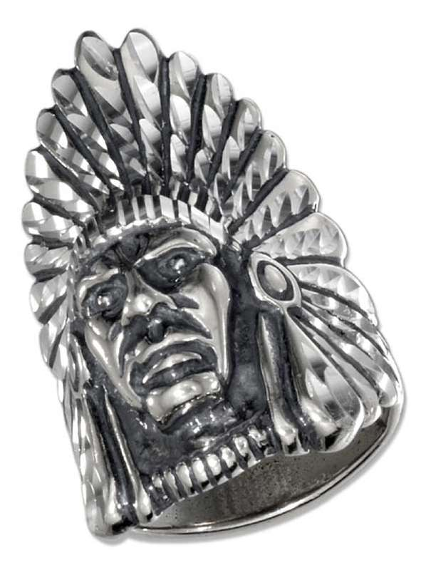 Men's Indian Chief Ring