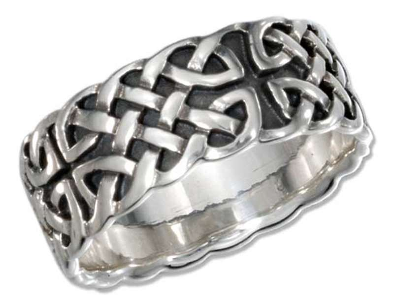 Men's Celtic Band Ring