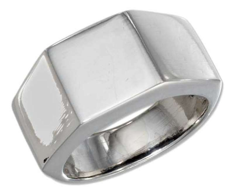 Men's Hex Nut Lugnut Ring
