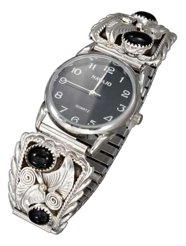 Men's Black Onyx Watch