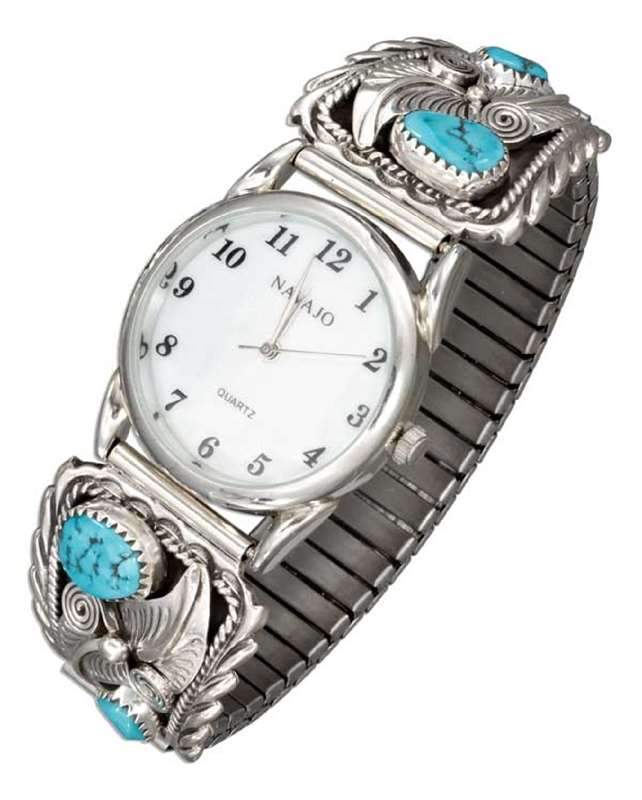 Men's Turquoise Nugget Watch