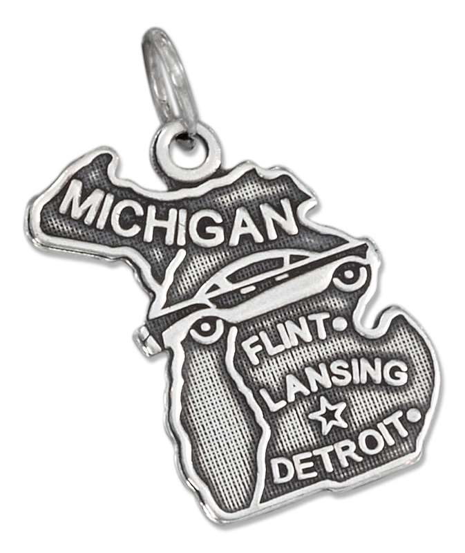 MICHIGAN State Charm