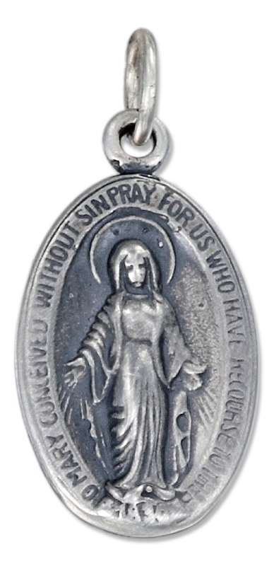 Miraculous Medal Charm