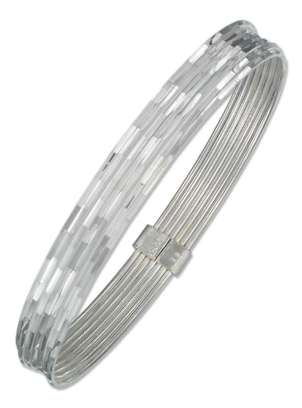 "8"" Semanario 7 Day Bangle Bracelet"