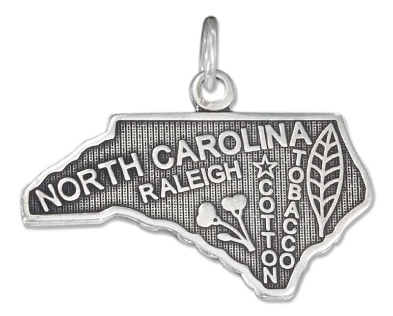 NORTH CAROLINA State Charm