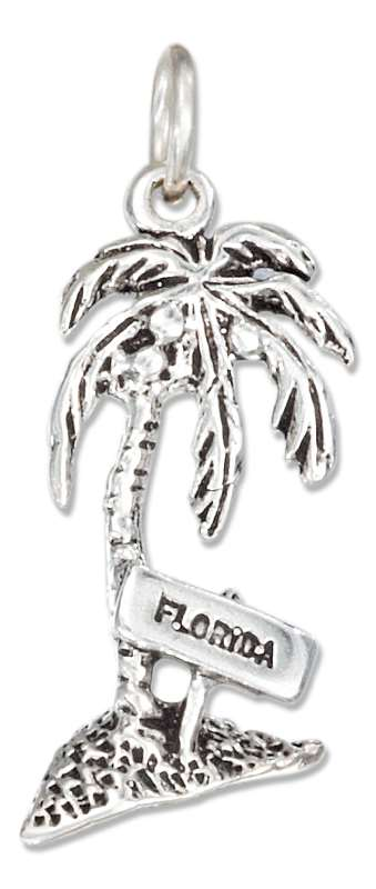FLORIDA Palm Tree Charm