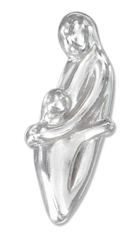 Single Parent Family With Child Pendant