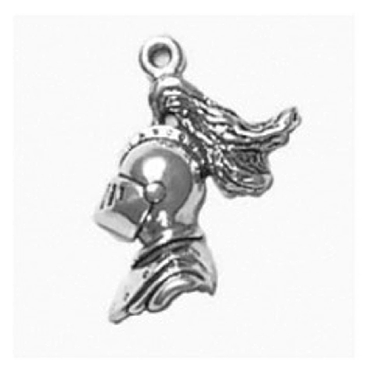 Partial 3D Medieval Knight Crusader Charm