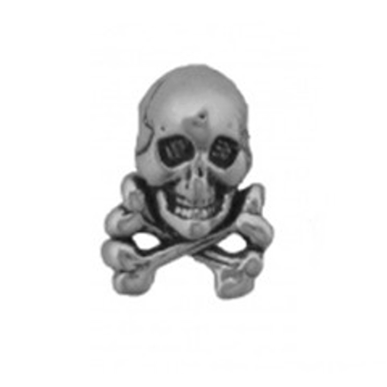 Pirates Jolly Roger Skull And Crossbones Single Post Earring