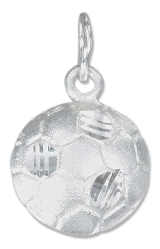 Partial 3D Soccer Ball Pendant