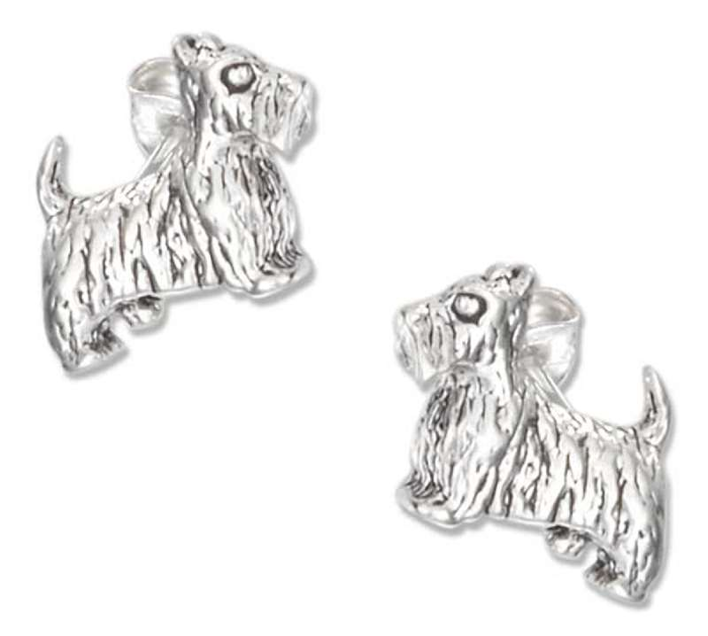 Scottish Terrier Post Earrings