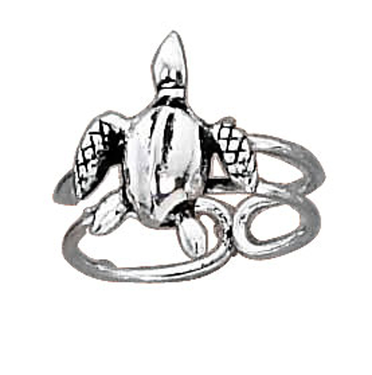 Reptile Sea Turtle Toe Ring