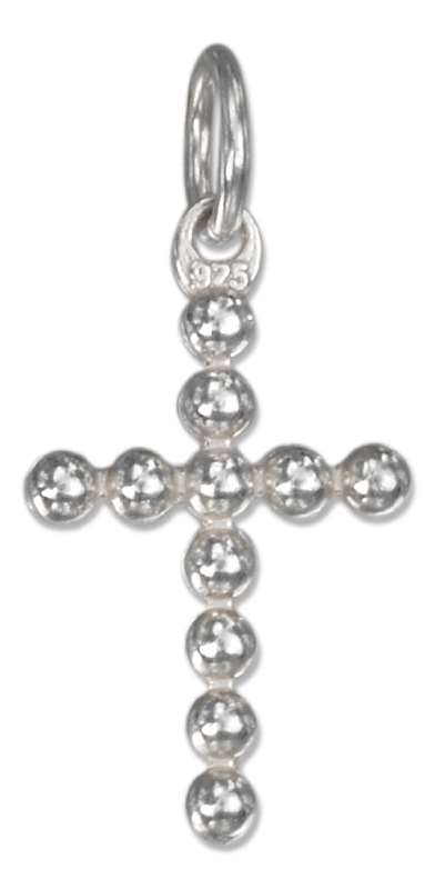 Beaded Christian Religious Cross Charm