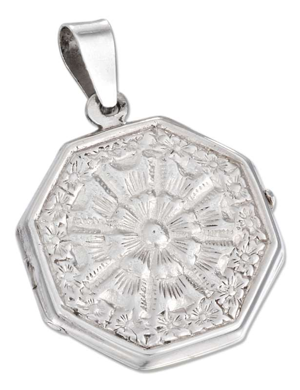 Octagonal Locket Pendants