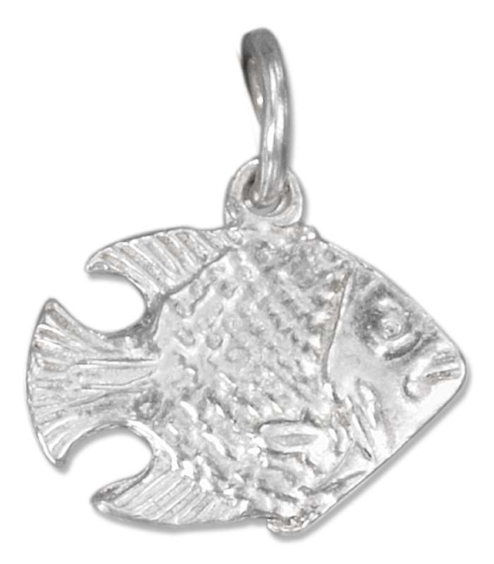 3D Two Sided Tropical Fish Charm