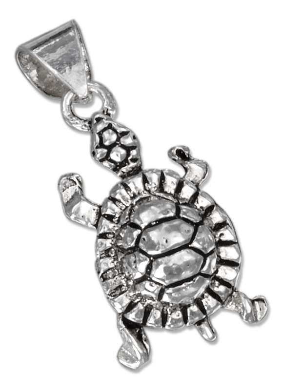 3D Small Turtle Pendant