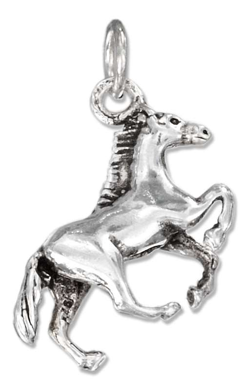 3D Running Thoroughbred Race Horse Charm