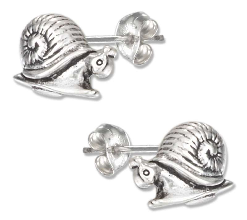 Snail Post Earrings