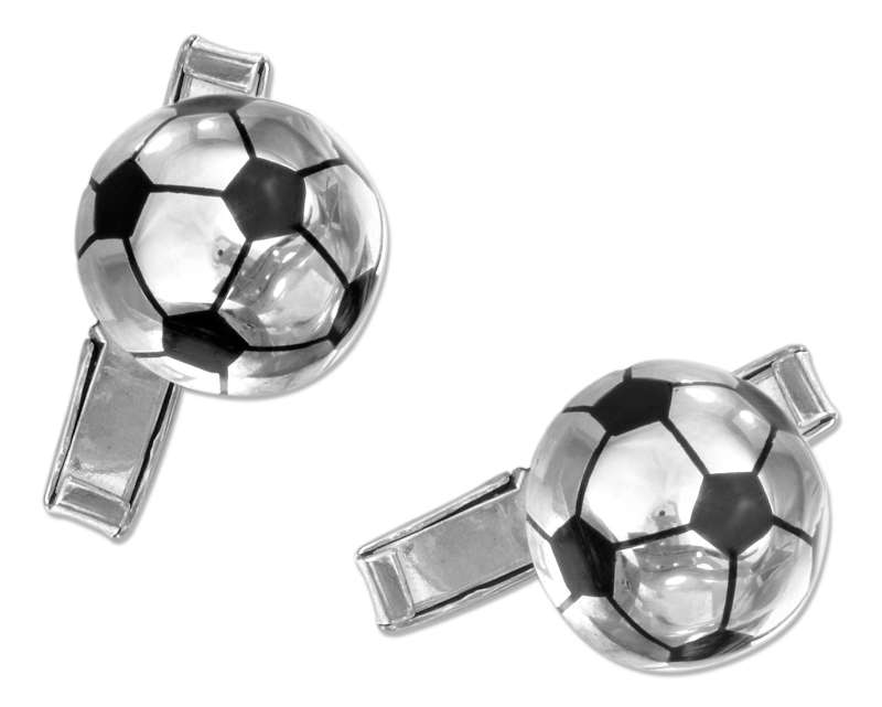 Soccer Ball Cuff Links
