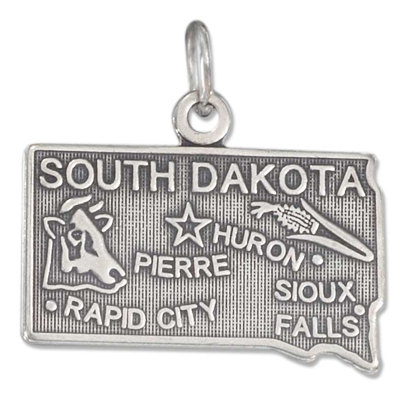 SOUTH DAKOTA State Charm