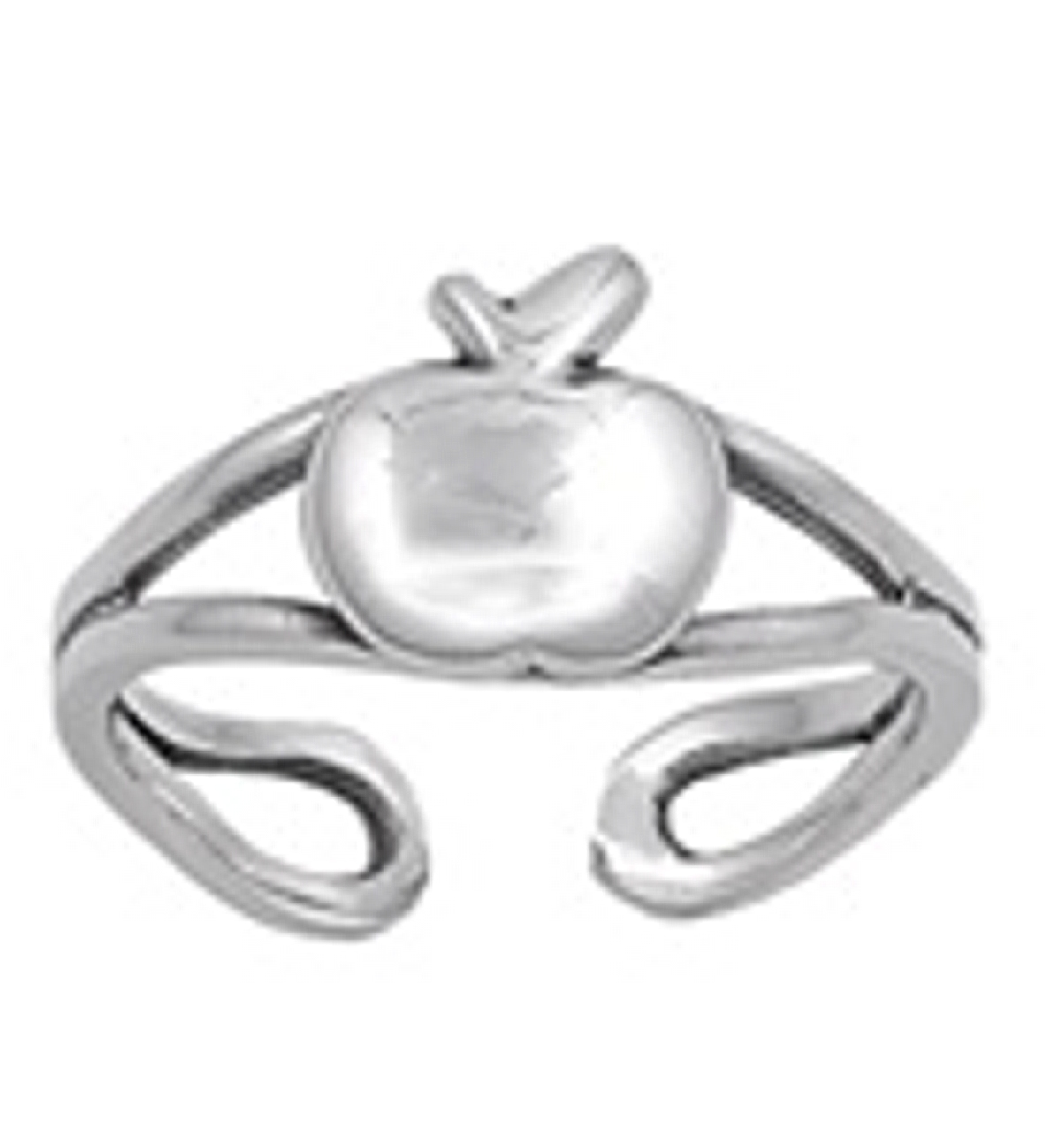 Split Shank Apple Adjustable Toe Ring