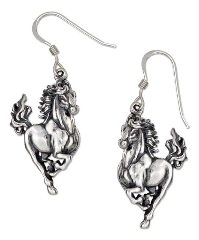 Stallion Horse Earrings