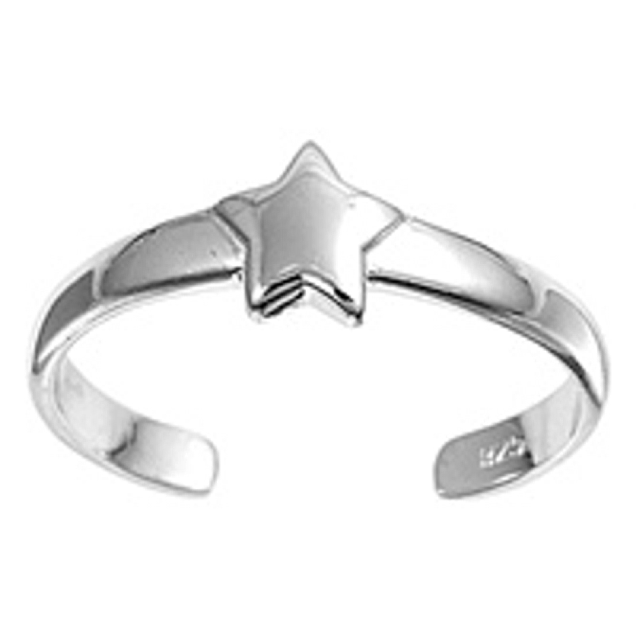 Shiny Celestial Star Adjustable Toe Ring