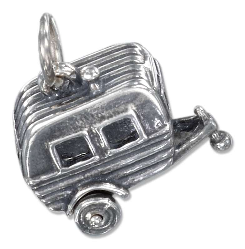 3D Camping Trailer Charm