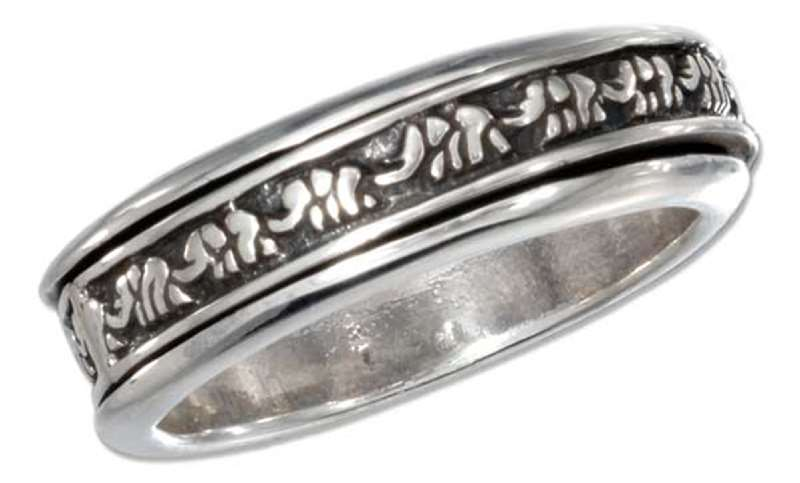 Unisex Elephant Spinner Ring