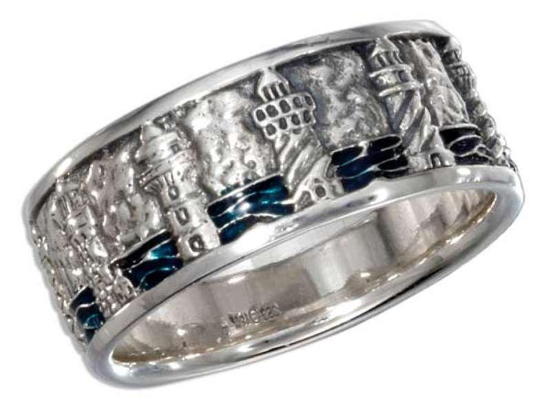 Unisex Multiple Lighthouse Ring