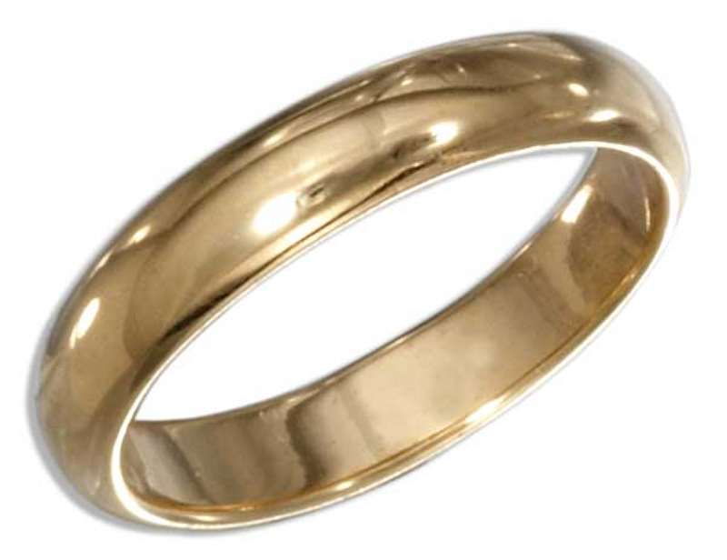 Men's Low Cost Silver Wedding Rings