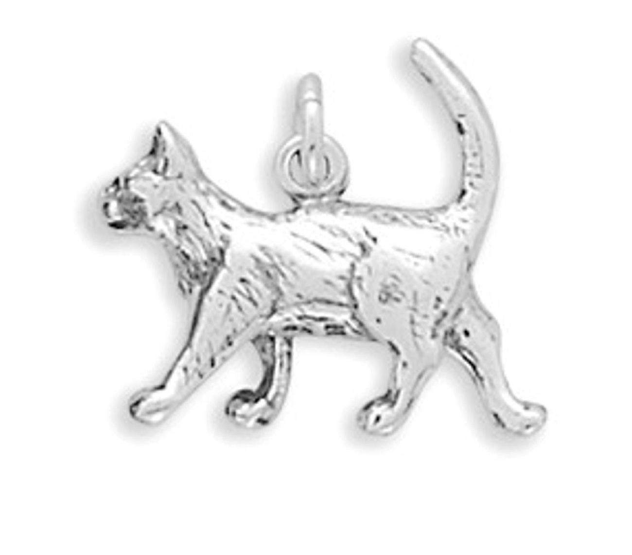 3D Walking Kitty Cat Charm