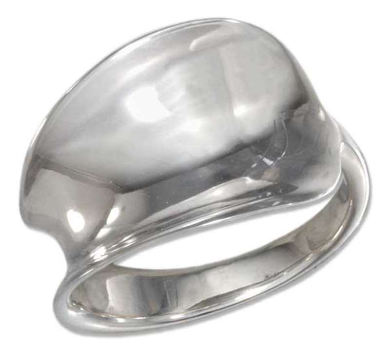 Nonadjustable Spoon Ring