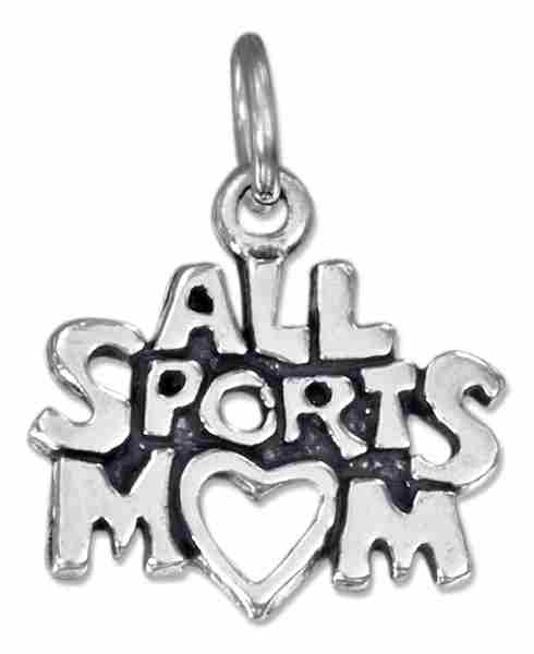ALL SPORTS MOM Charm